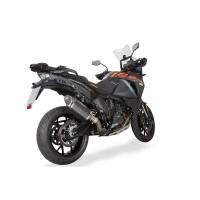 Laděný výfuk SPEEDPRO COBRA CR2 HEXAGON carbon Slip-on KTM 1050 ADVENTURE 2014-2020