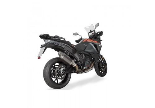 Laděný výfuk SPEEDPRO COBRA CR2 HEXAGON carbon Slip-on KTM 1190 ADVENTURE 2014-2020