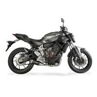 Laděný výfuk SPEEDPRO COBRA Full Systém Svody + koncovka CS1R carbon underengine Yamaha MT-07 + Tracer 2013-2016