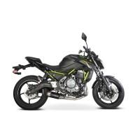 Laděný výfuk SPEEDPRO COBRA Full Systém Svody + koncovka CS1R black underengine Kawasaki Versys 650 2017-