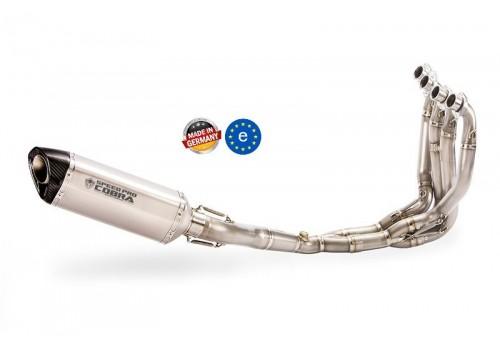 Laděný výfuk SPEEDPRO COBRA Full Systém Svody + koncovka CR2 Honda CB 650R / CBR 650R 2019-