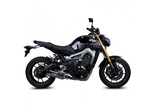 Laděný výfuk SPEEDPRO COBRA Full Systém Svody + koncovka CR2 Hexagon carbon Yamaha MT-09 + Tracer 2013-2020