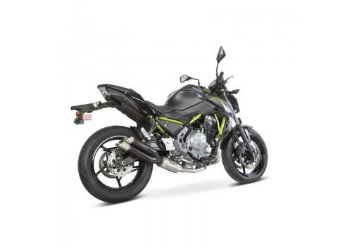 Laděný výfuk SPEEDPRO COBRA Full Systém Powerbox Svody + koncovka Hypershots Kawasaki Z 650 2017-