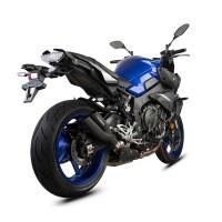 Laděný výfuk SPEEDPRO COBRA Powershots Ultrashort black Slip-on Yamaha MT-10 2016-2020