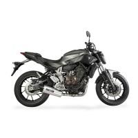 Laděný výfuk SPEEDPRO COBRA Full Systém Svody + koncovka SC3 underengine Yamaha MT-07 + Tracer 2013-2016