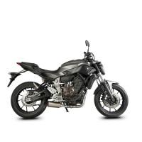 Laděný výfuk SPEEDPRO COBRA Full Systém Svody + koncovka SP1 underengine Yamaha MT-07 + Tracer 2017
