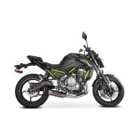 Laděný výfuk SPEEDPRO COBRA Full Systém Svody + koncovka SP1 underengine Kawasaki Ninja 650 2017-