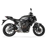 Laděný výfuk SPEEDPRO COBRA Full Systém Svody + koncovka SP2 underengine Yamaha MT-07 + Tracer 2013-2016