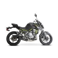 Laděný výfuk SPEEDPRO COBRA Full Systém Svody + koncovka SPX black Kawasaki Versys 650 2017-