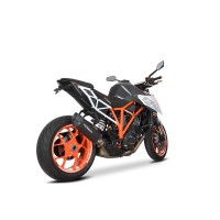 Laděný výfuk SPEEDPRO COBRA GP2-RR Black Series Slip-on KTM 1290 SUPER DUKE R 2014-2019