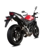 Laděný výfuk SPEEDPRO COBRA SP2 Slip-on Black Series Suzuki SV 650 2016-2018