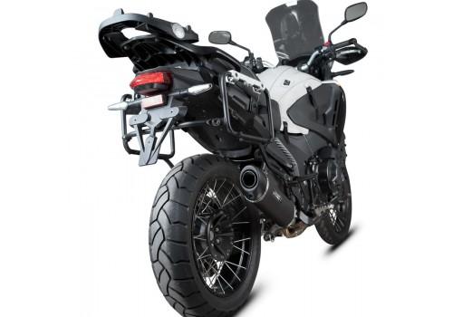 Laděný výfuk SPEEDPRO COBRA SC3 black series Slip-on Honda VFR 1200 X Crosstourer